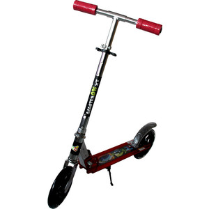 Самокат 2-х колесный BabyHit ScooterOK XT Красный самокат 3 х колесный babyhit scooterok tolocar красный