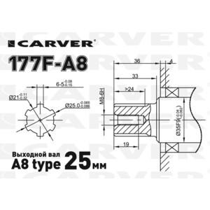 Двигатель бензиновый Carver 177F-A8 от ТЕХПОРТ
