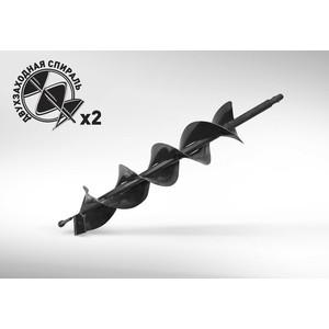 Бур почвенный двухзаходный Carver 100х800мм, 20мм GDB-100/2 (01.003.00045) al ko 38см 112881