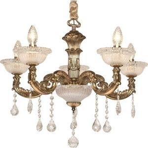 Фотография товара потолочная люстра Silver Light серия Demetra, цвет золото 5XE14X60W 729.53.5 (659251)