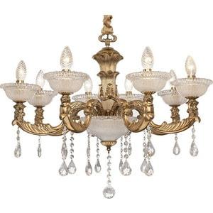 Фотография товара потолочная люстра Silver Light серия Demetra, цвет золото 8XE14X60W 729.53.8 (659252)