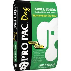Сухой корм PRO PAC Dog Adult/Senior Chicken Meal and Rice Formula с курицей и рисом для пожилых собак всех пород 3кг pro pac dog large breed