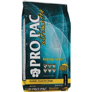 Сухой корм PRO PAC Ultimates Bayside Select Grain Free Holistic Whitefish & Potato Formula беззерновой с белой рыбой и картофелем для собак 2,5кг