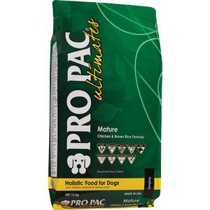 Сухой корм PRO PAC Ultimates Mature Holistic Chicken & Brown Rice Formula с курицей и коричневым рисом для пожилых собак 2,5кг nelly copenhagen