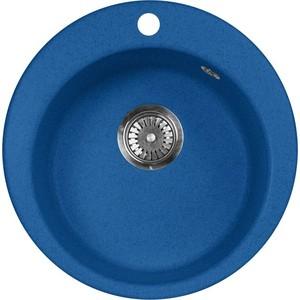 Кухонная мойка AquaGranitEx M-05 475х475 синий (M-05 (323))