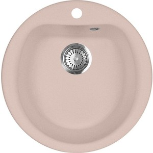 Кухонная мойка AquaGranitEx M-07 495х495 розовый (M-07 (315)) цена