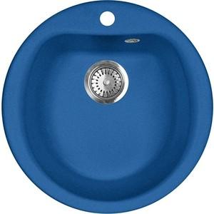 Кухонная мойка AquaGranitEx M-07 495х495 синий (M-07 (323)) kinklight 0130t 07