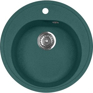 Кухонная мойка AquaGranitEx M-08 505х505 зеленый (M-08 (305)) gangxun зеленый цвет m