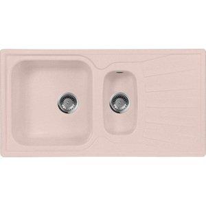 Кухонная мойка AquaGranitEx M-09K 940х495 розовый (M-09K (315)) babyonlinedress розовый m