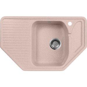 Кухонная мойка AquaGranitEx M-10 795х495 розовый (M-10 (315)) помада pupa i m lipstick 315 цвет 315 red magenta variant hex name b42342 вес 10 00