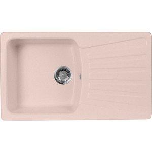 Кухонная мойка AquaGranitEx M-12 840х490 розовый (M-12 (315)) помада pupa i m lipstick 315 цвет 315 red magenta variant hex name b42342 вес 10 00