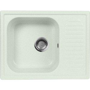 Кухонная мойка AquaGranitEx M-13 645х495 салатовый (M-13 (303)) aquagranitex 13 white