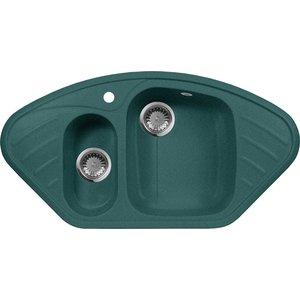 Кухонная мойка AquaGranitEx M-14 950х500 зеленый (M-14 (305)) gangxun зеленый цвет m