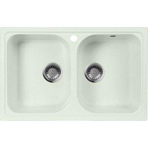 Кухонная мойка AquaGranitEx M-15 775х495 салатовый (M-15 (303)) cottelli m