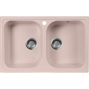 Кухонная мойка AquaGranitEx M-15 775х495 розовый (M-15 (315)) babyonlinedress розовый m