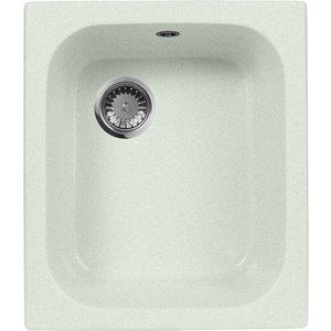 купить Кухонная мойка AquaGranitEx M-17 420х485 салатовый (M-17 (303))