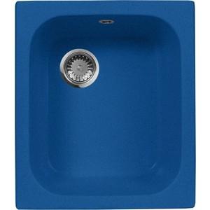 Кухонная мойка AquaGranitEx M-17 420х485 синий (M-17 (323)) кухонная мойка aquagranitex m 17 420х485 светло розовый m 17 311