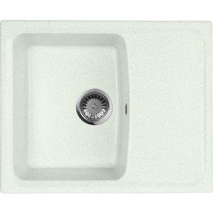 Кухонная мойка AquaGranitEx M-17K 600х490 салатовый (M-17K (303)) мойка кухонная aquagranitex m 17 420х485 серый m 17 310