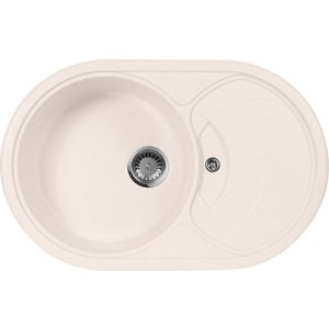 Кухонная мойка AquaGranitEx M-18S 780х500 светло-розовый (M-18S (311)) aurelli 15w003 18s nero