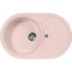 Кухонная мойка AquaGranitEx M-18S 780х500 розовый (M-18S (315)) aurelli 15w003 18s nero
