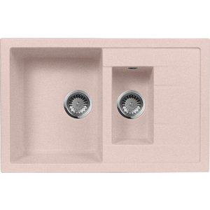 Кухонная мойка AquaGranitEx M-21K 780х500 розовый (M-21K (315)) швейцарские часы boegli m 780