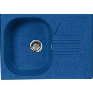 Кухонная мойка AquaGranitEx M-70 690х490 синий (M-70 (323)) мойка кухонная aquagranitex m 17 420х485 серый m 17 310