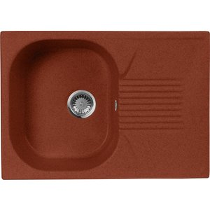 Кухонная мойка AquaGranitEx M-70 690х490 красный марс (M-70 (334)) boegli m 70