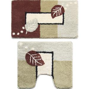 Набор ковриков для ванной Milardo Late Autumn 50x80 и 50x50 см (340PA68M13) набор ковриков для ванной milardo waiting for spring 370pa68m13