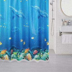 Штора для ванной Milardo Ocean Floor 180x180 см (520V180M11)