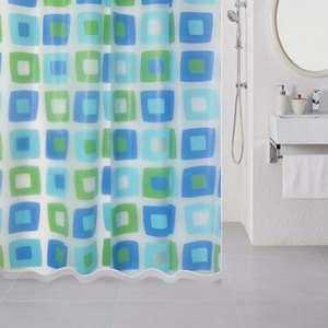 Штора для ванной Milardo Wonderful Cubes 180x180 см (506V180M11) штора для ванной комнаты milardo 506v180m11