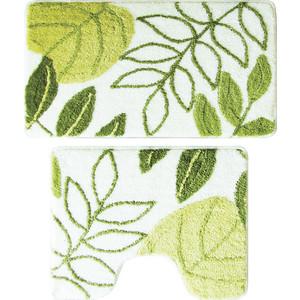 Набор ковриков для ванной Milardo Waiting for Spring 50x80 и 50x50 см (370PA68M13) набор ковриков для ванной iddis rain 50x80 и 50x50 см mid160ms