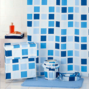 Фотография товара штора для ванной Milardo Fresco 180x200 см (SCMI020P) (659707)