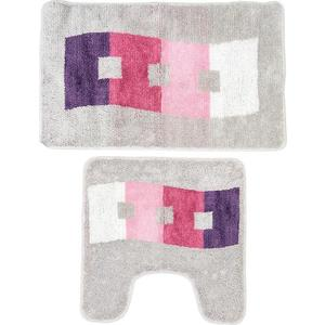 Набор ковриков для ванной Milardo Curvy Esplanade 50x80 и 50x50 см (480PA58M13) набор ковриков для ванной milardo waiting for spring 370pa68m13