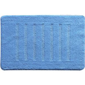Коврик для ванной Milardo Blue lines 50x80 см (MMI182M) iddis curved lines blue коврик для ванной 50 80 см акрил 400a580i12