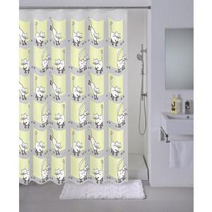 Штора для ванной Milardo Cozy cats 180x180 см (528V180M11) milardo amur amusb00m01