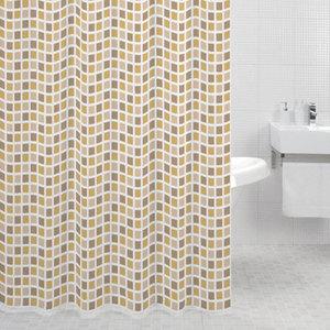 Фото Штора для ванной Milardo Classic Tiles 180x200 см (700P180M11)