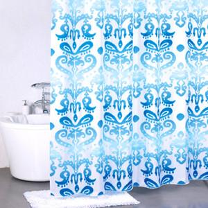 Штора для ванной Milardo Turkush blue 180x200 см (920P180M11) women short straight wig human hair
