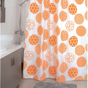 Штора для ванной Milardo Orange Dots 180x200 см (850P180M11) сумка allrounder m dots