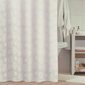 Штора для ванной Milardo White Mist 180x180 см (810P180M11) white