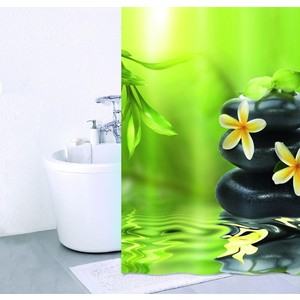 Штора для ванной IDDIS Spa Therapy 180x200 см (680P18Ri11) strong infrared body ion cleanse foot spa