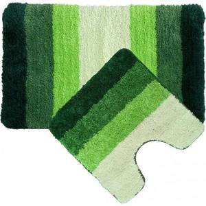 Набор ковриков для ванной IDDIS Green Gradiente 50x80 и 50x50 см (552M580i13) набор ковриков для ванной iddis rain 50x80 и 50x50 см mid160ms