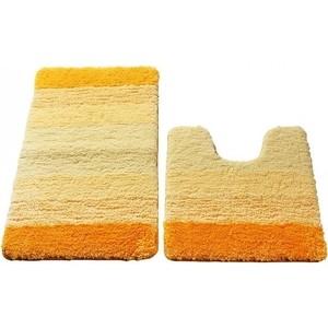 Набор ковриков для ванной IDDIS Yellow Gradiente 50x80 и 50x50 см (551M580i13) набор ковриков для ванной iddis rain 50x80 и 50x50 см mid160ms