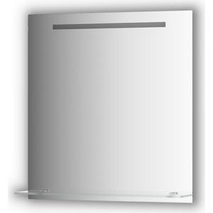 Зеркало с полочкой Evoform Ledline-S со светильником 5 W 70x75 см (BY 2155)