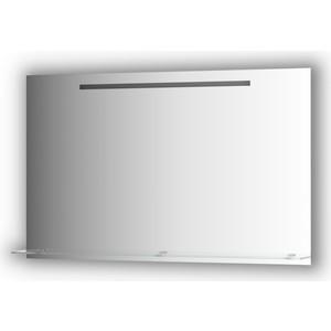 Зеркало с полочкой Evoform Ledline-S со светильником 7 W 120x75 см (BY 2159) зеркало evoform ledline 100х75 см со встроенным led светильником 7 w by 2107