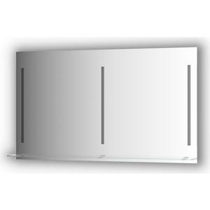 Зеркало с полочкой Evoform Ledline-S с 3-мя светильниками 16,5 W 130x75 см (BY 2169)