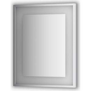 Зеркало в багетной раме поворотное Evoform Ledside со светильником 18 W 60x75 см (BY 2201) цены онлайн