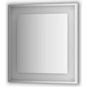 Зеркало в багетной раме поворотное Evoform Ledside со светильником 20 W 70x75 см (BY 2202)