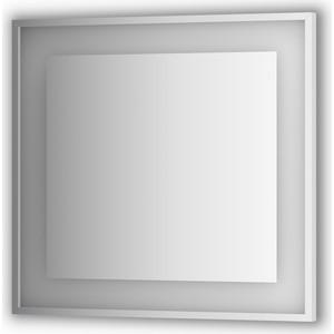 Зеркало в багетной раме поворотное Evoform Ledside со светильником 22 W 80x75 см (BY 2203) цены онлайн