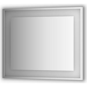 Зеркало в багетной раме поворотное Evoform Ledside со светильником 24 W 90x75 см (BY 2204) цены онлайн