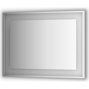 Зеркало в багетной раме поворотное Evoform Ledside со светильником 25,5 W 100x75 см (BY 2205) дискеты 5 25 в туле